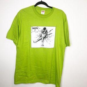 Akira SUPREME Yamagata Lime Green Short Sleeve